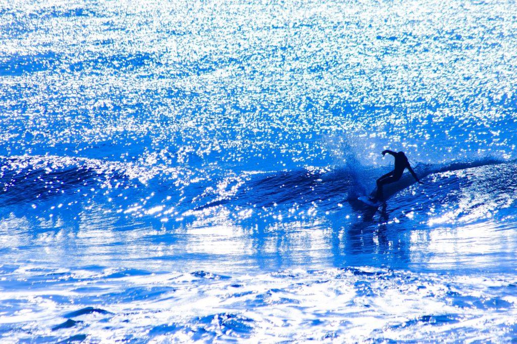 サーフィン教室。